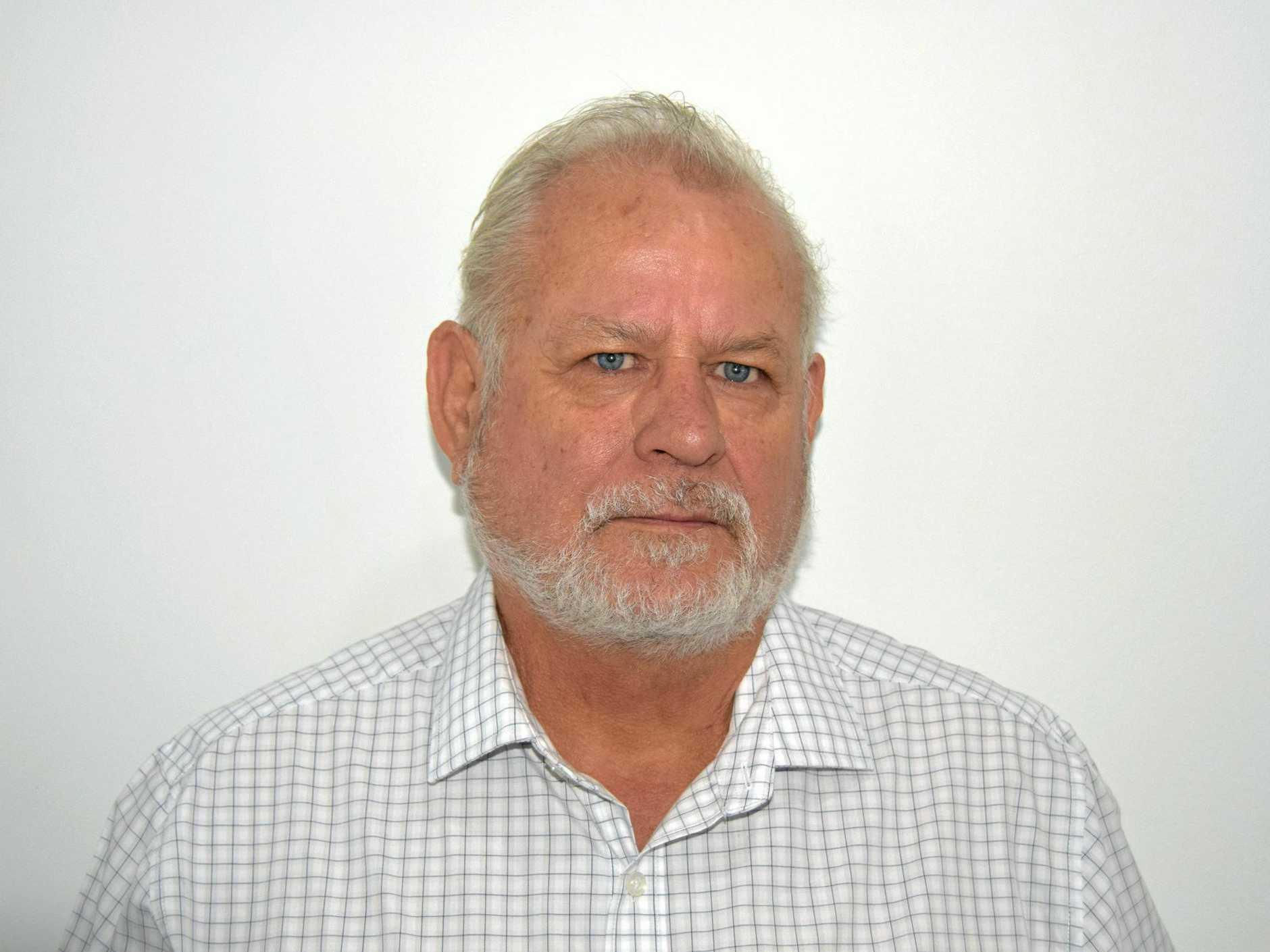 Capricornia candidate George Birkbeck.