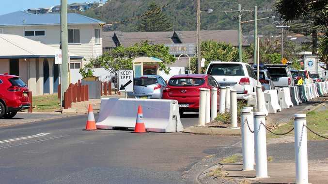 Two-way traffic re-opens in Lennox Head