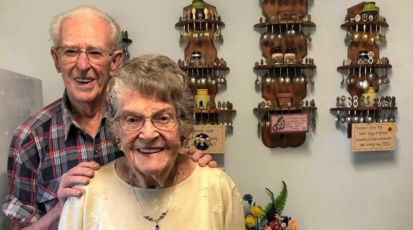Artie and Edie Brown are about to celebrate 75 years of marriage with their family including 22 great grandchildren.