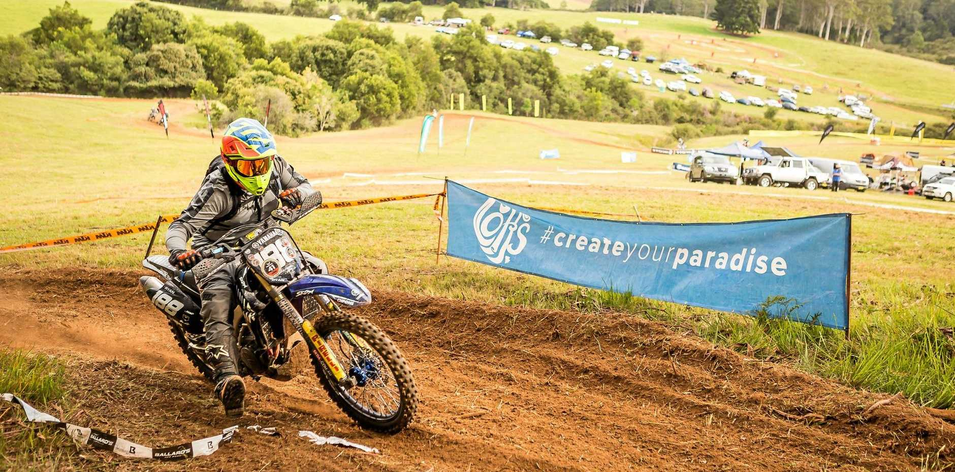 FULL THROTTLE: Riders came from all over for the inaugural Transmoto 8-Hour event held in Ulong last weekend.
