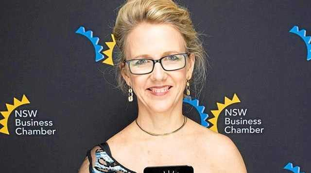 UNDER CLOUD: Former Lismore Chamber of Businesss president and member of Universal Medicine, Deborah Benhayon. The new chamber board of directors have stripped Universal Medicine of its awards.