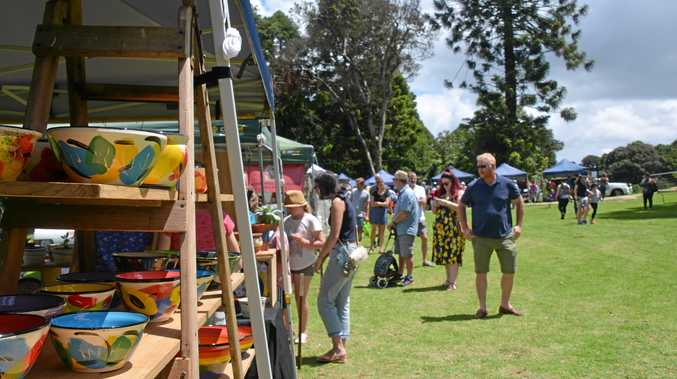 Easter fun at the markets by the dam