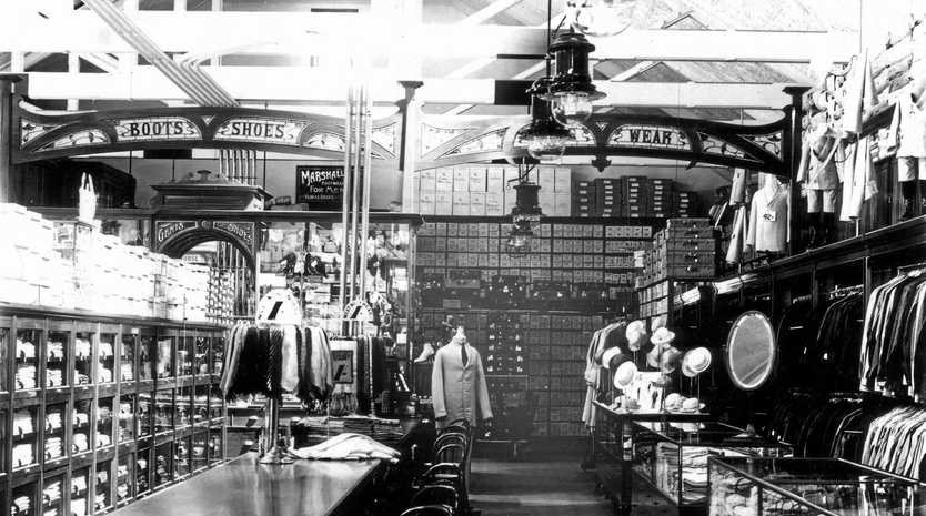 LEGENDARY STORE: The interior of McLeans Store, circa 1935.