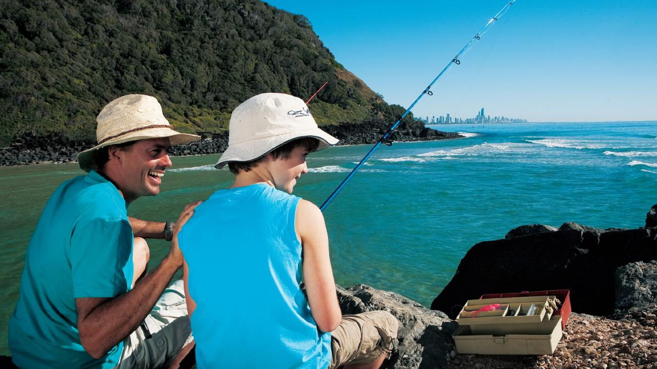 Fishers have been warned to obey the rules of face a hefty fine this Easter long weekend. Picture: Tourism and Events Queensland