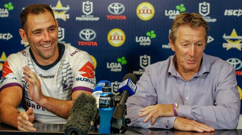 Storm coach Craig Bellamy has hit back at the Roosters. Picture: AAP