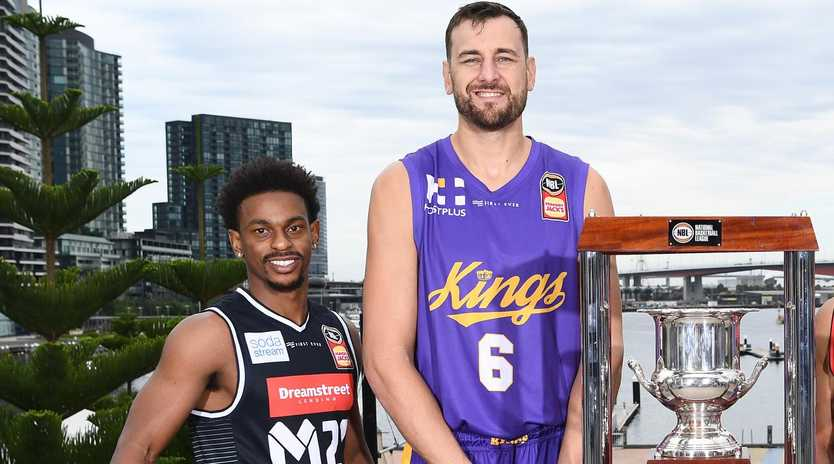 Casper Ware started last season as Andrew Bogut's rival. He's now his teammate. Picture: Getty Images