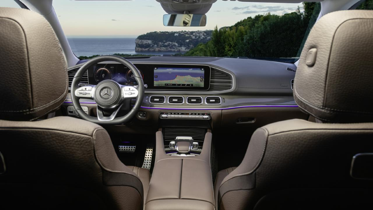 Inside the 2020 Mercedes-Benz GLS.