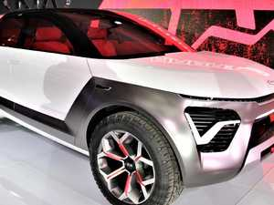 Kia unveils funky electric SUV