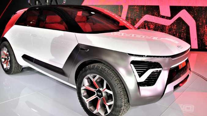 Kia unveils funky electric SUV