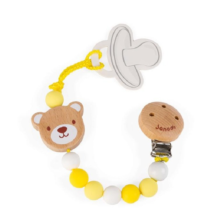 Jura Toys France — Janod Baby Pop Pacifier Holder