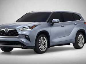 New Toyota Kluger family SUV revealed
