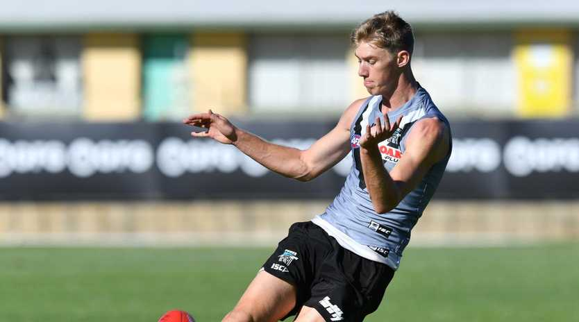 Todd Marshall has been recalled for Port Adelaide's match against West Coast. Picture: David Mariuz/AAP