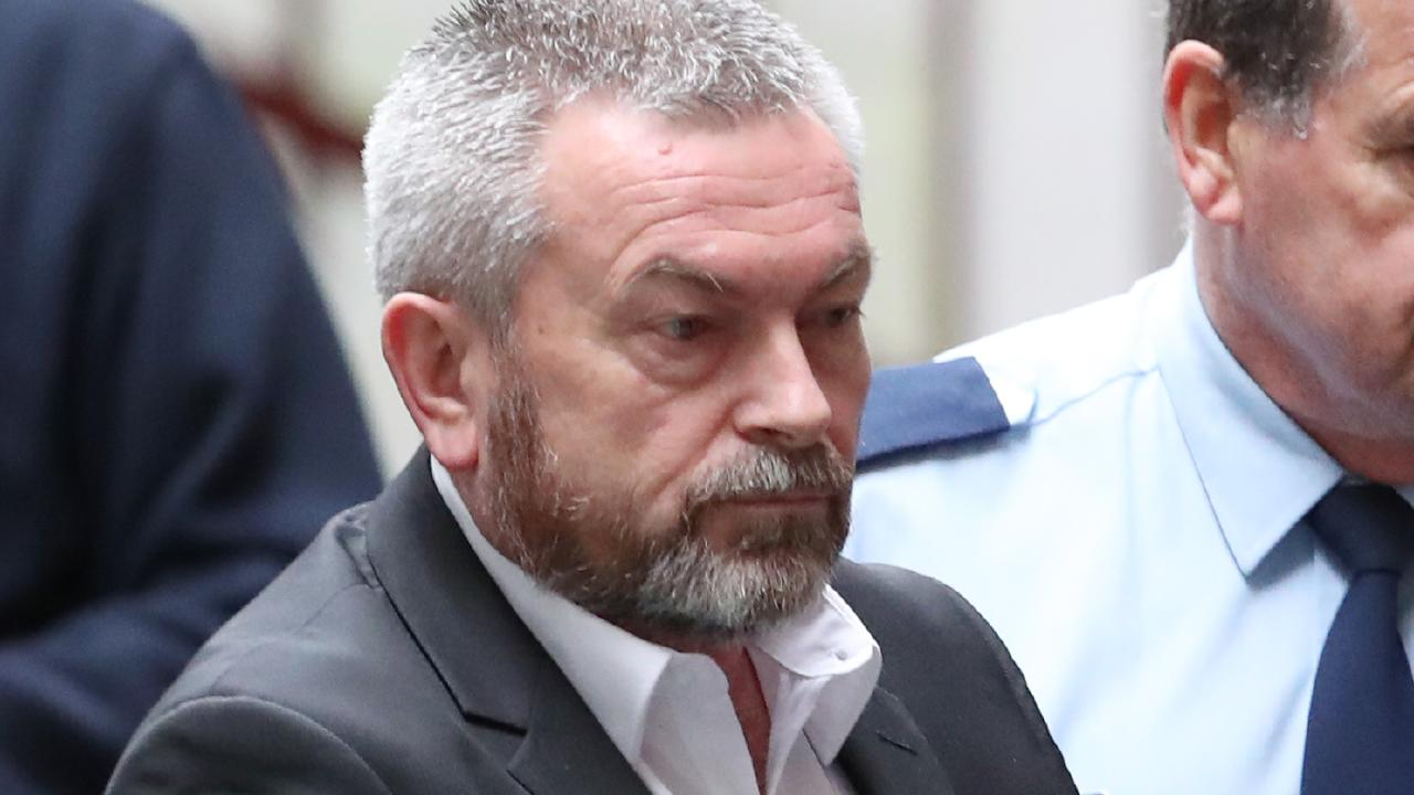 Borce Ristevski will be sentenced today for killing his wife Karen. Picture: David Crosling