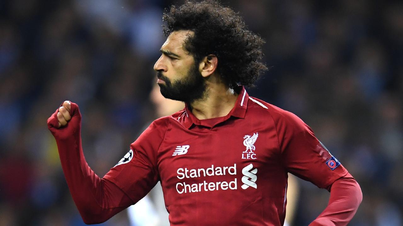 Mohamed Salah is looking in ominous form.