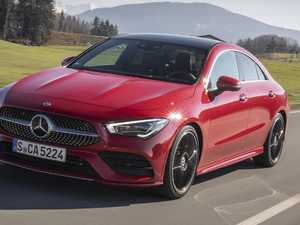 New Mercedes-Benz CLA coupe will stand out from the crowd