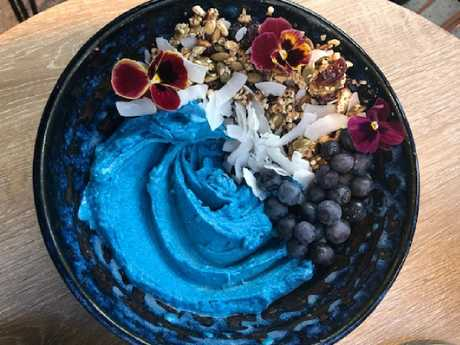 Blue superfoods are rich in antioxidants and are popping up on menus everywhere.