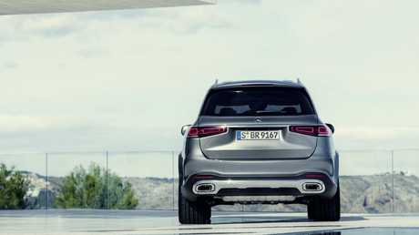 The 2020 Mercedes-Benz GLS features innovative suspension technology.