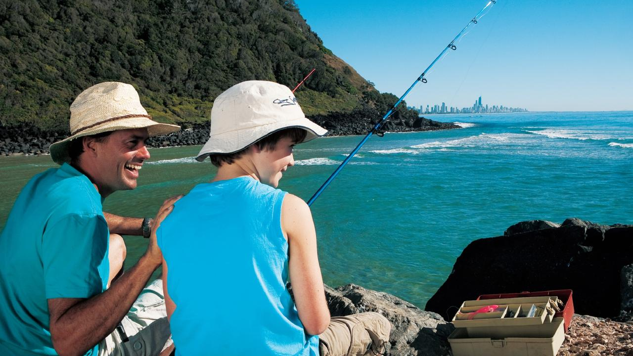 While the Easter long weekend is the perfect time for a little fishing retreat, here are the rules for fishers to obey or risk being slapped with a hefty fine. Picture: Tourism and Events Queensland