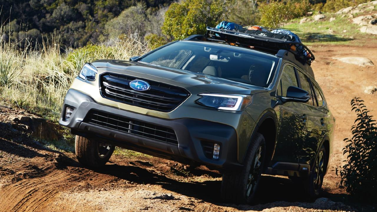 The new Outback promises to be more capable off-road. Picture: Supplied.