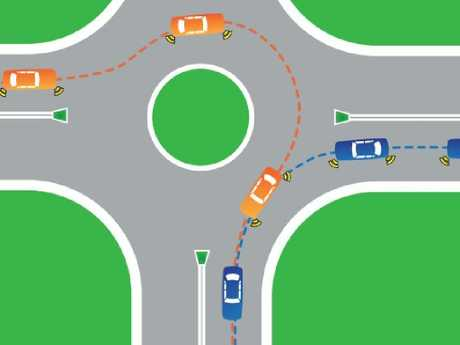 Could failing to indicate when leaving a roundabout land you in hot water? Picture: Transport NSW