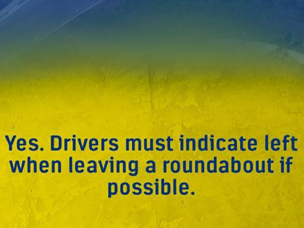 This roundabout question has sparked a debate. Picture: RACQ