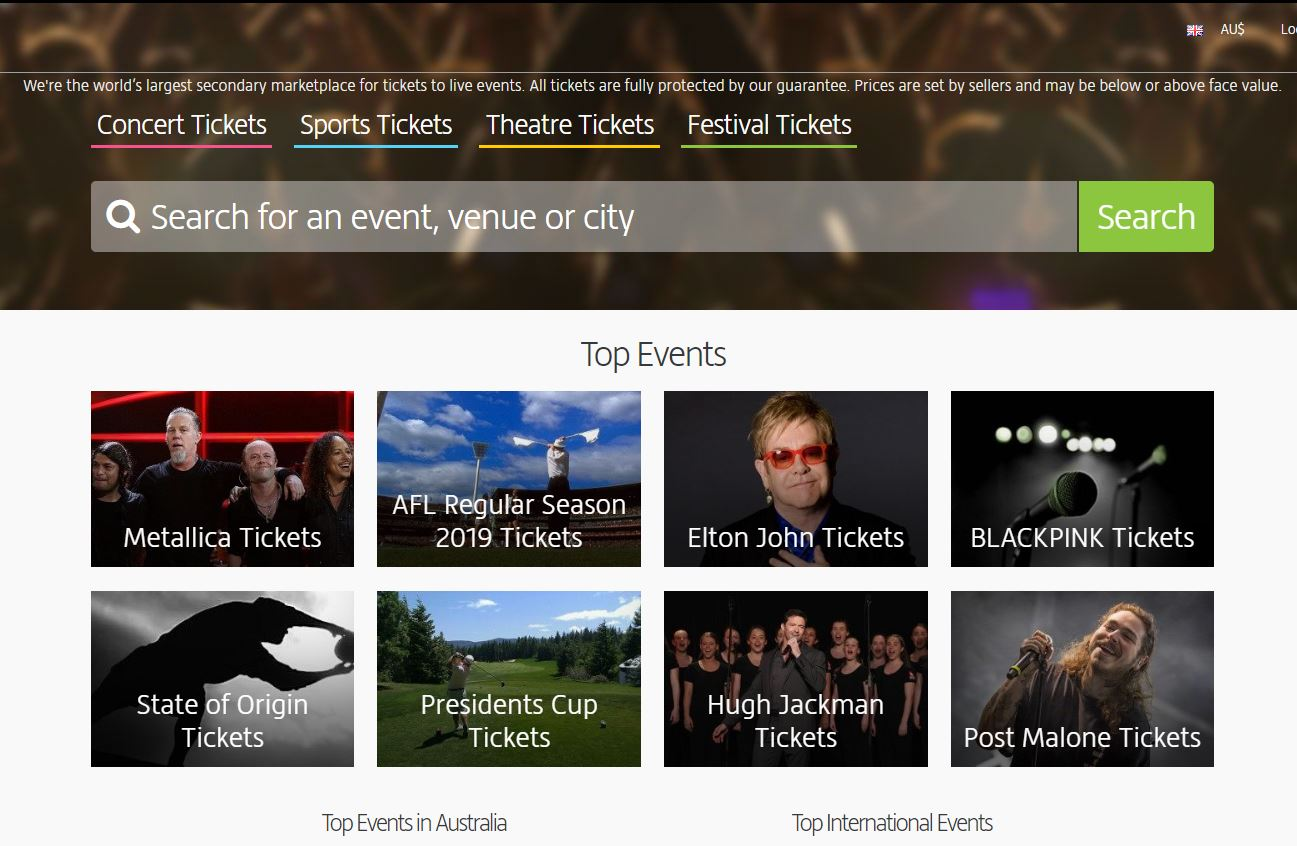 Ticket reseller Viagogo has been found guilty of misleading customers.