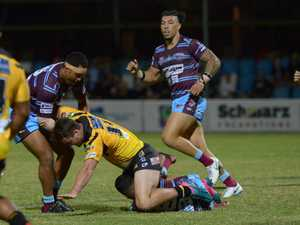 RUGBY LEAGUE: CQ Capras' Aaron Flanagan goes to