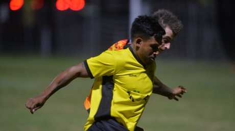 Former North Queensland Cowboy, Ben Barba signed with Mackay soccer team the Rangers following a lifetime ban placed on him from the NRL.