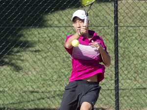 Jonathan Kim. Easter Gold Cup tennis. Friday, 19th