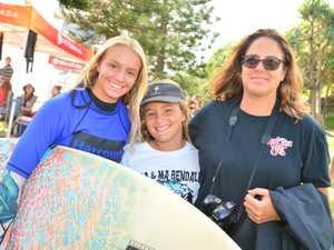 Jessie and Kayla Lloyd-Stewart with Chenoa Lloyd at