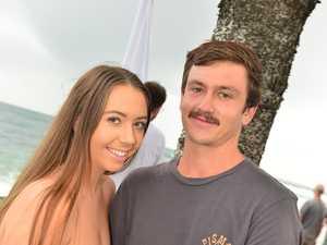 Cayla Van Tienhoven and Nic Doran at Moffat Beach for