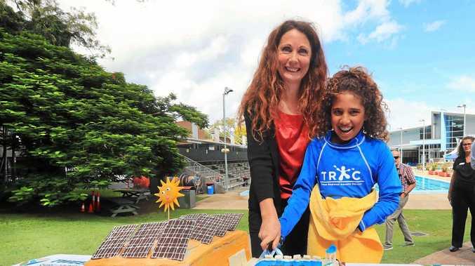 Solar is making a splash