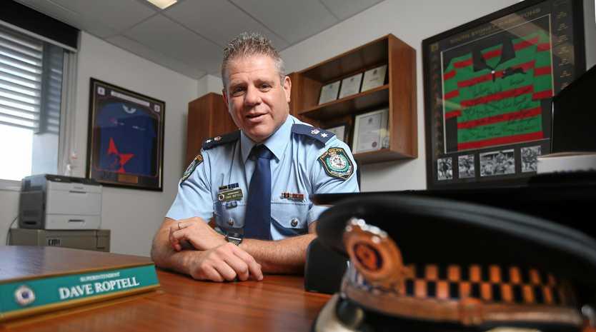 TOP COP: Tweed Byron Police Superintendent David Roptell