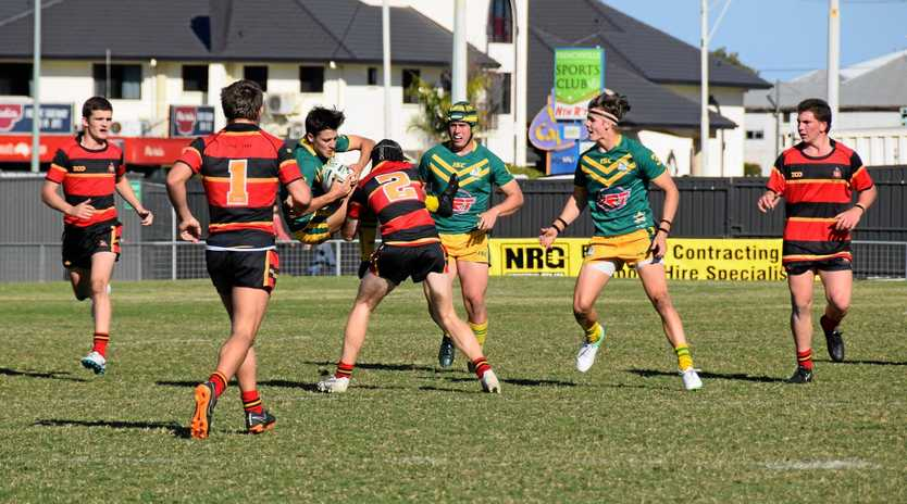 Rockhampton Grammar School and St Brendan's College have long enjoyed a spirited rivalry on the rugby league field.