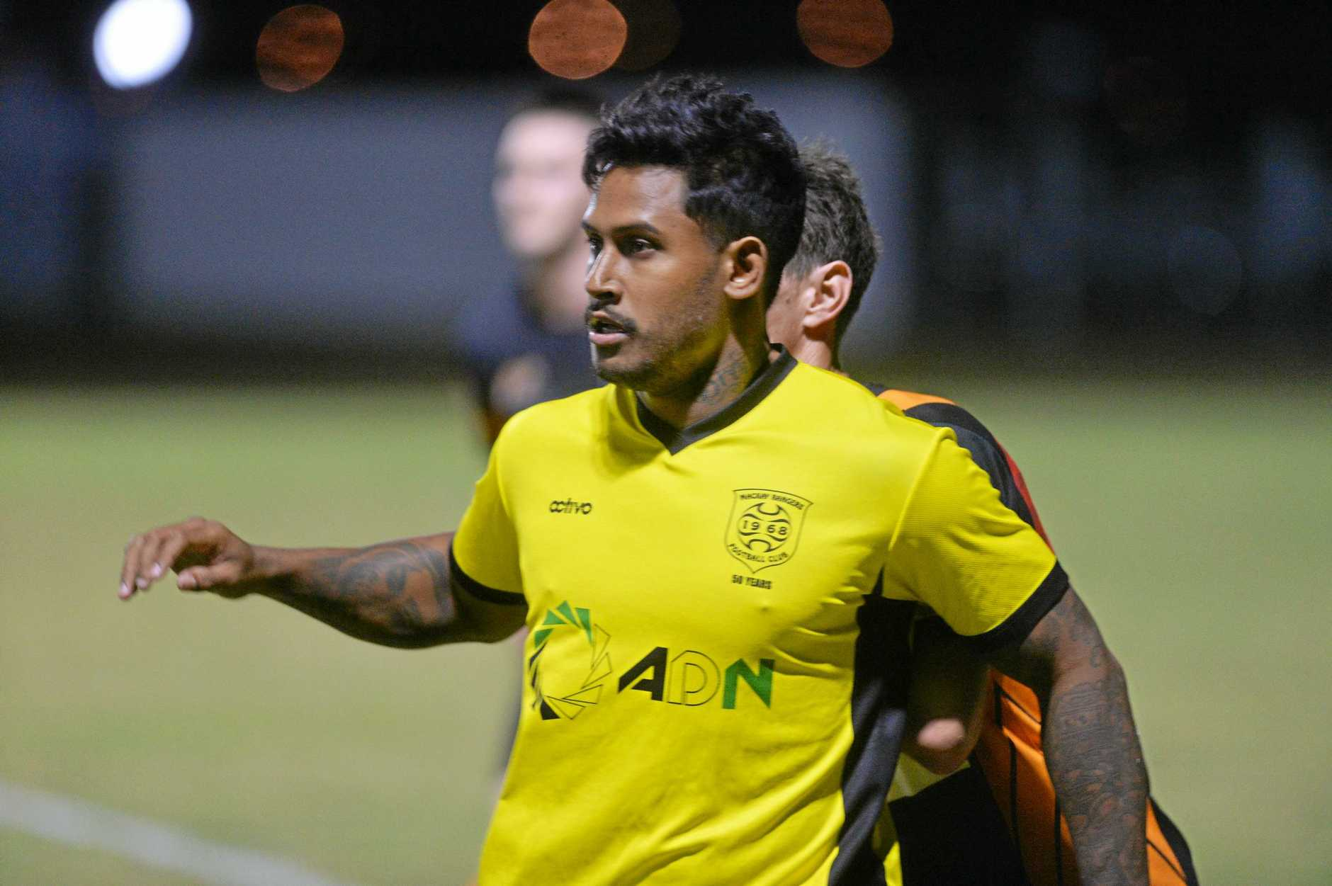Former North Queensland Cowboy Ben Barba has signed with a local soccer club.