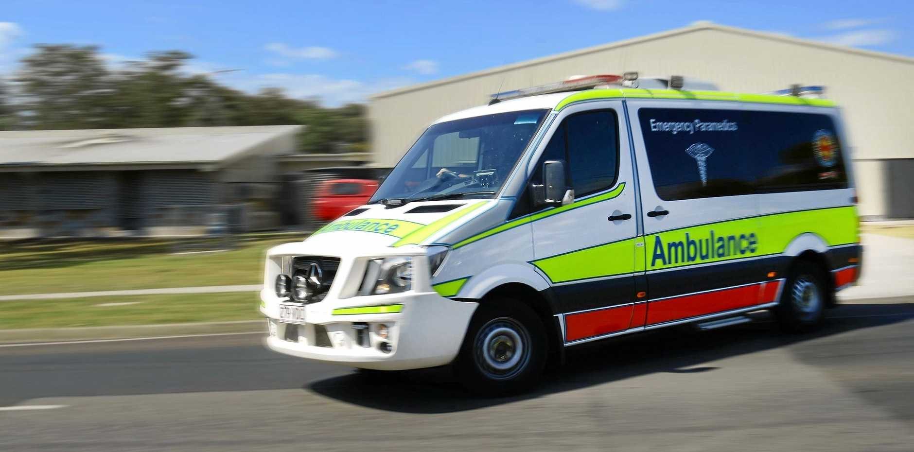 Emergency Services have responded to suspected alcohol still explosion in Bucasia.