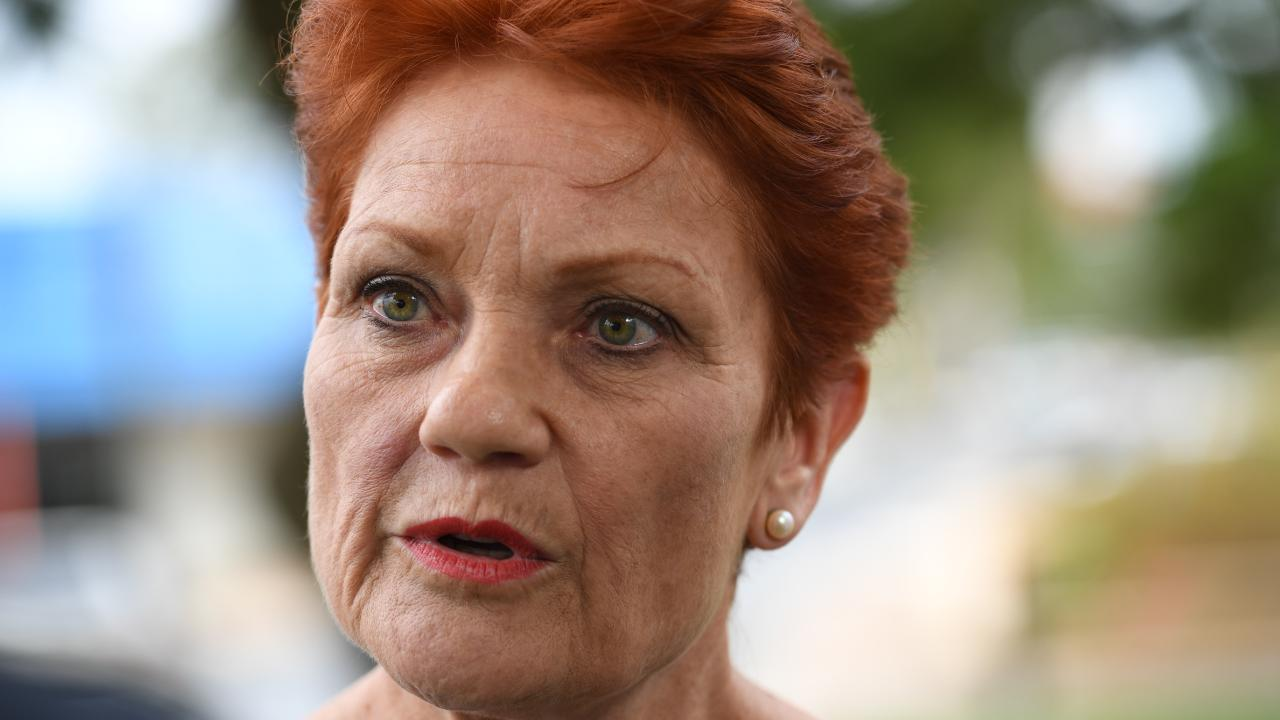 One Nation's Pauline Hanson. Picture: Tricia Watkinson