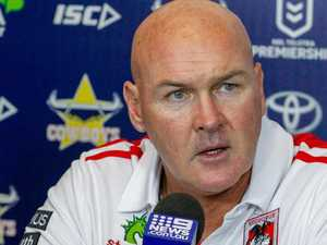 Dragons coach fears star's career is over