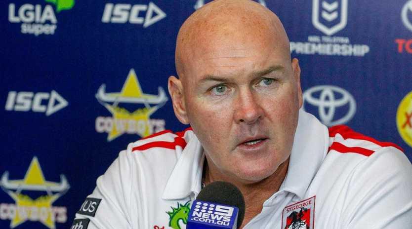 Paul McGregor says Jack de Belin's career hangs in the balance.