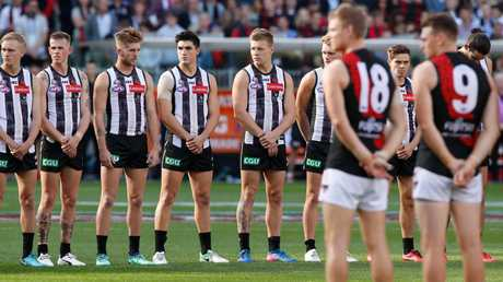 Some footy identities, such as Eddie McGuire, have hit out at the AFL's decision, saying there needs to be a big gap before the ceremony.