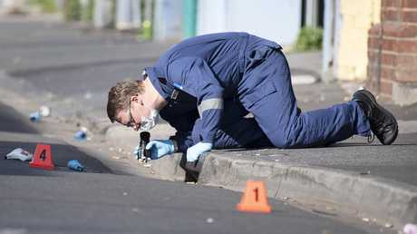 Police have stepped up the hunt for the gunman, still on the run almost a week after shots were fired, killing one doorman and injuring patrons.