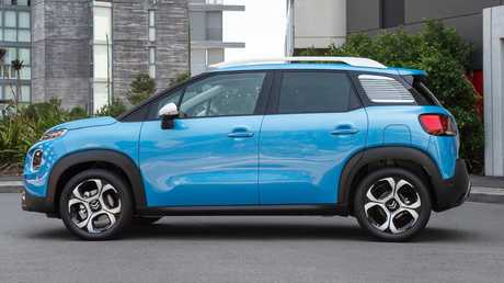 The Aircross excels in city driving.