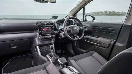 The Citroen C3 Aircross has an uncluttered dash layout that is easy to use.