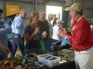 Mt Hay Tourist Park's Gemboree stall attracts