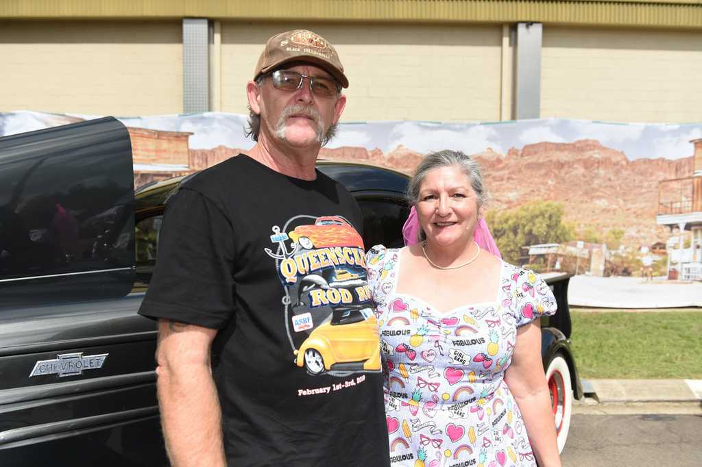 Image for sale: Australian Streed Rod Federation Nationals - David and Tracey Baldwin.