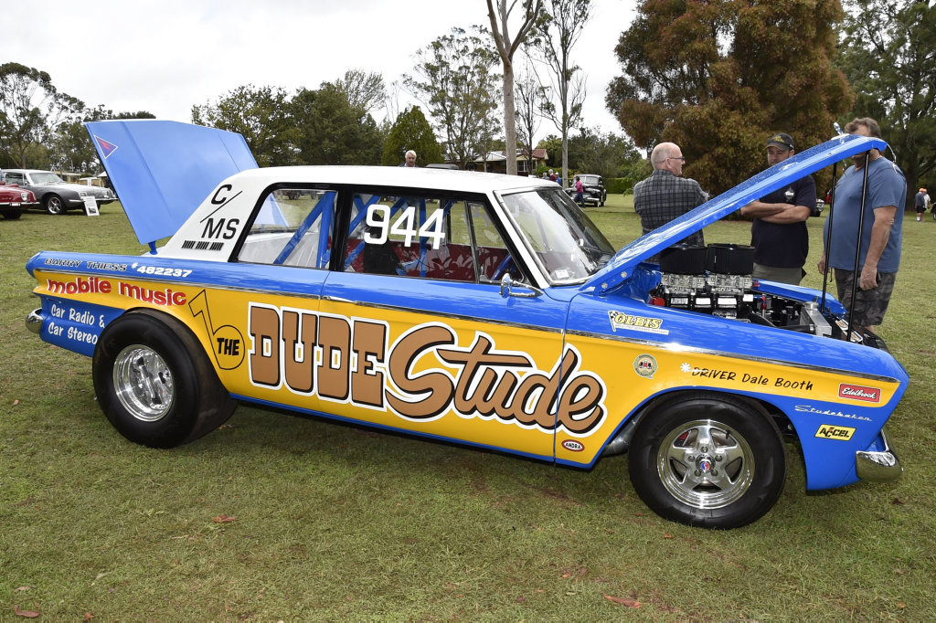 Dale Booth with his 1970s studabaker  Studabacker weekend  April