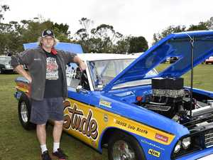 Dale Booth with his 1970s studabaker. Studabacker