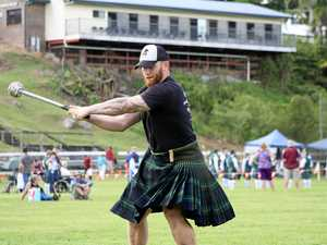 All fun and Highland Games