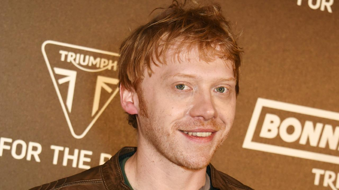 Rupert Grint. Picture: David M. Benett/Dave Benett/Getty Images for Triumph Motorcycles