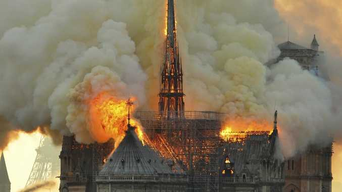 New theory on Notre Dame fire